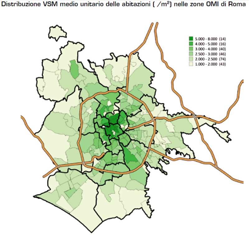 ROMA-Distribuzione-Valore-medio-unitario-delle-abitazioni-nelle-zone-OMI